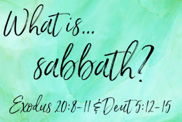 What is Sabbath?